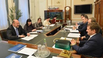 Илья Шестаков и Игорь Орлов обсудили тематику дополнительных круглых столов и организацию профильной выставки