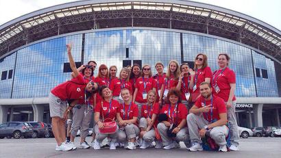 На чемпионате работал 21 волонтер из Архангельской области