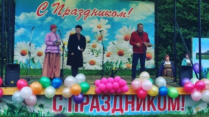 Проект по оборудованию сцены реализован ТОС «Заря» совместно с администрацией муниципального образования «Островное»