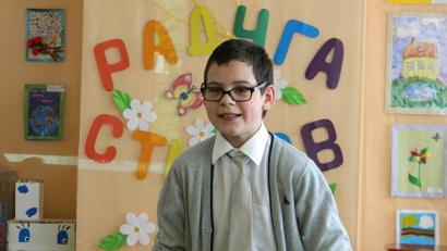 Артём Девяткин занял I место среди детей, владеющих активной речью