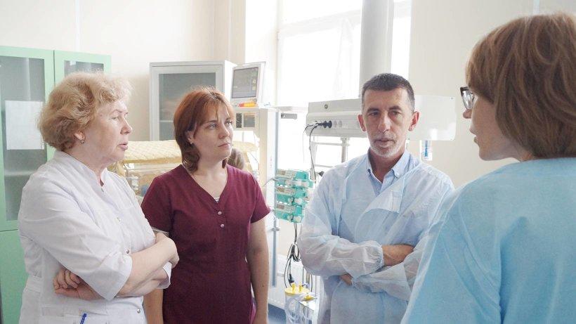 Специалисты познакомились с работой отделений перинатального центра, областной детской больницы имени П.Г. Выжлецова и роддома имени К.Н. Самойловой