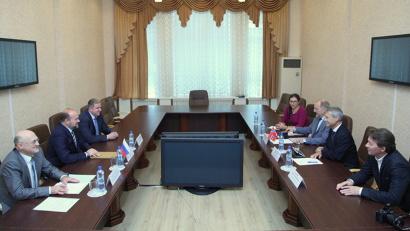 Тема встречи – текущее состояние и перспективы сотрудничества в Баренцевом регионе в современных условиях
