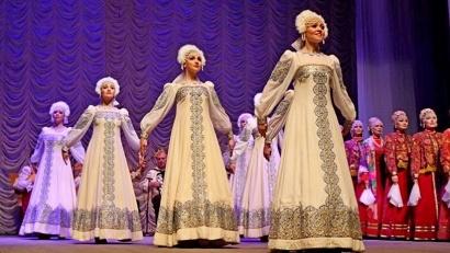 Публика тепло принимала песенное творчество Русского Севера. Фото Алимирзы Эльмурзаева
