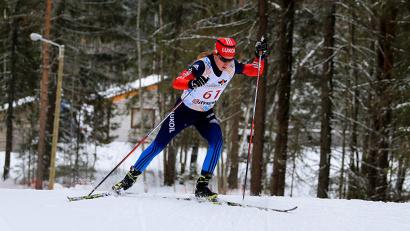 Юлия Чекалёва стартовала последней и финишировала первой