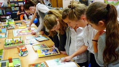 Участие в конкурсе приняли 500 ребят в возрасте от семи до 18 лет. Фото пресс-службы областной Госавтоинспекции