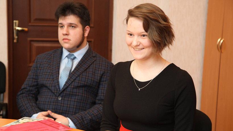Анастасия Кузнецова получила первое место за сценарий «Национальность не приговор»