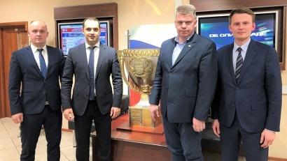 Делегация Поморья обсудила с руководителем Ассоциации мини-футбола России Эмилем Алиевым основные векторы сотрудничества