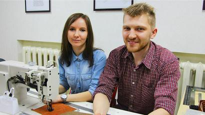 Выпускники федеральной программы «Ты – предприниматель» Александр Пышкаров и Мария Забайкина