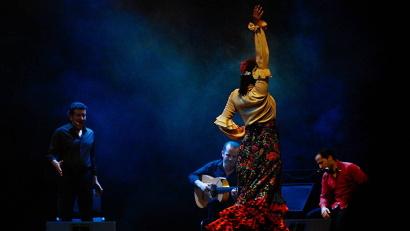 Театр «Фламенко Виво» подарил шанс очутиться в жаркой и солнечной Испании. Фото пресс-службы Архангельского молодёжного театра