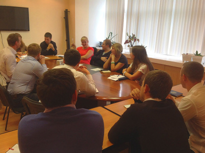 Молодые политики обсудили план работы на ближайший год