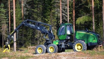 В соревнованиях будут задействованы последние новинки лесозаготовительной техники