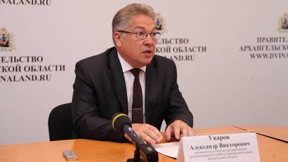 Руководитель агентства государственной противопожарной службы и гражданской защиты Александр Уваров