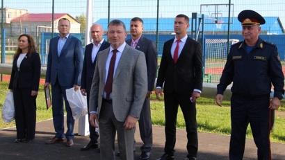 Олег Русинов подчеркнул, что занятия спортом дают молодежи возможность развивать лучшие качества
