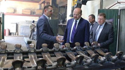 Игорь Орлов осмотрел ремонтную базу предприятия