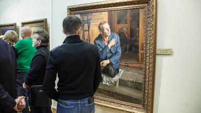 В выставочном зале музея ИЗО представлено 35 портретов