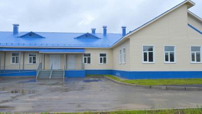 Новый детский сад рассчитан на 60 мест