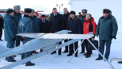 Алексей Алсуфьев и Олег Кувшинников провели смотр сил и средств спасателей