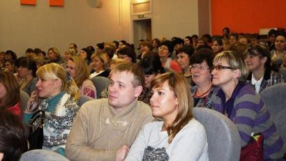 Конференц-зал в Добролюбовке был полон
