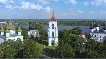 Сольвычегодск, стоп-кадр из фильма о музее