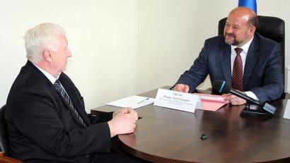 Встреча состоялась в приёмной Президента РФ в Архангельской области