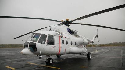 После пусконаладки медицинского оборудования, которая займёт несколько дней, санитарный вертолёт отправится в первый рейс на помощь северянам