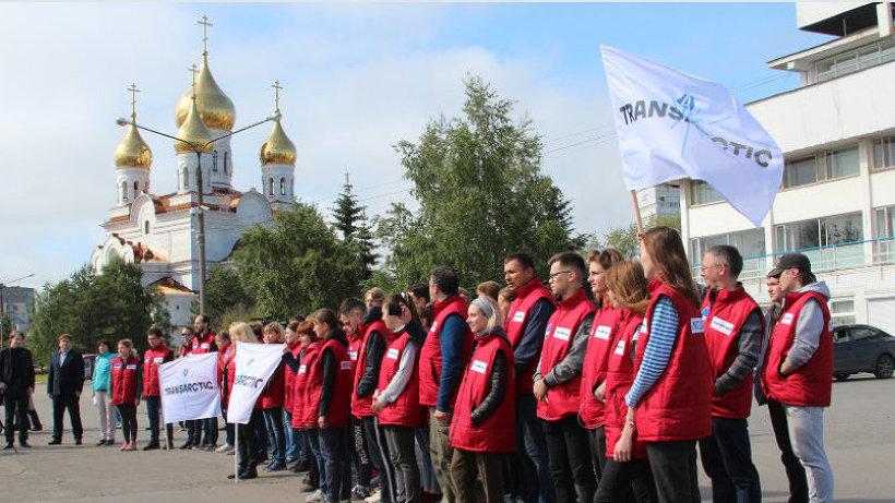 Третий этап проекта «Трансарктика-2019» стартовал из Архангельска 16 июля. Фото: пресс-служба САФУ