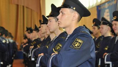 Первокурсники Арктического морского института принесли клятву