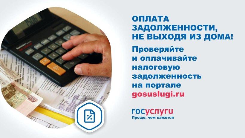 На всякий случай проверяйте налоговую задолженность на портале Госуслуг хотя бы раз в месяц
