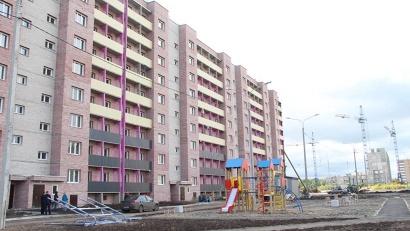180-квартирный социальный дом на улице Карпогорской в Архангельске