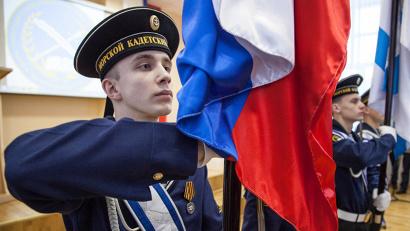В настоящее время в Архангельской области открыто 158 кадетских классов в 62 муниципальных образованиях