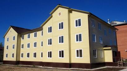 Дом построили за счёт средств федерального и областного бюджетов. Фото газеты «Онега»