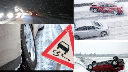 Уважаемые водители! Соблюдайте Правила дорожного движения, будьте предельно внимательными и осторожными в сложных погодных условиях