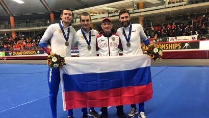 У Александра Румянцева бронза в командной гонке