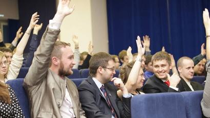 Молодёжь готова участвовать в развитии Поморья и предлагать свои идеи!