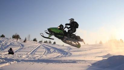 Открытый снегоходный фестиваль «SNOW Устья» (Устьянский район)