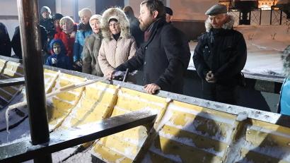 Карбасу «Тойма» организаторы посвятили отдельное время