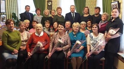 Представители фтизиатрической службы Вельского района с общественниками