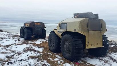 Экспедиция «На Восток!» станет испытанием для уникальных вездеходов  «Шерп» российской разработки