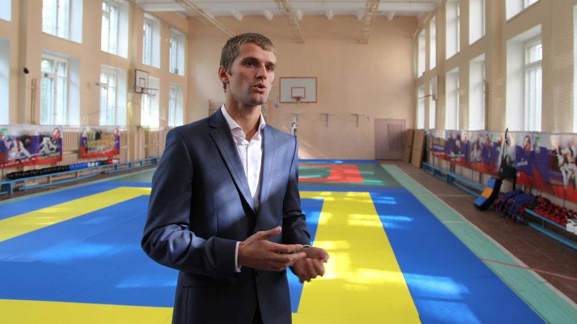 Константин Пивоваров, один из основателей детского спортивного клуба «Панкратион»