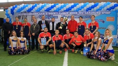 Минтранс Поморья представляла сборная команда молодых футболистов