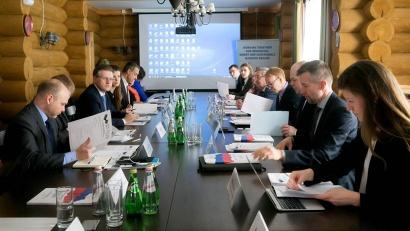 Заседание проходило под председательством МИД России и собрало 15 представителей внешнеполитических ведомств стран-участников БЕАР