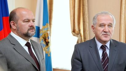 Игорь Орлов и Владимир Булавин ответили на вопросы журналистов