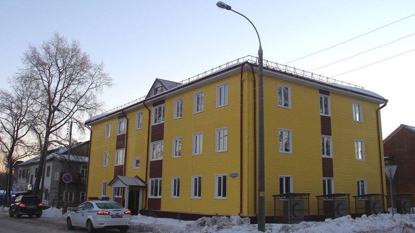В новостройке 21 квартира общей площадью 890 квадратных метров