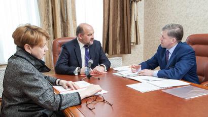 Глава Каргопольского района рассказал губернатору о проектах, которые запланированы к реализации в ближайшее время