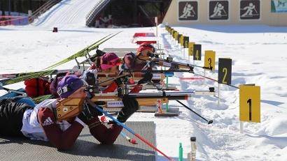 28 марта участники всероссийских соревнований состязались в биатлоне
