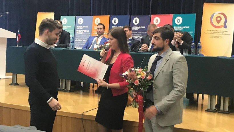 Проект коллектива САФУ  признан лучшим на конкурсе молодежных инновационных идей социально-экономического сотрудничества на Евразийском пространстве