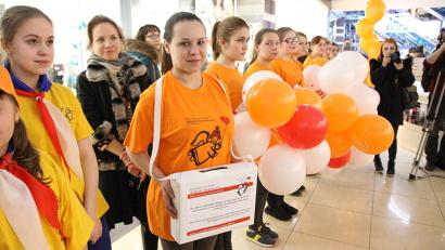 Волонтёры с коробками для сбора пожертвований появятся в магазинах крупных торговых сетей