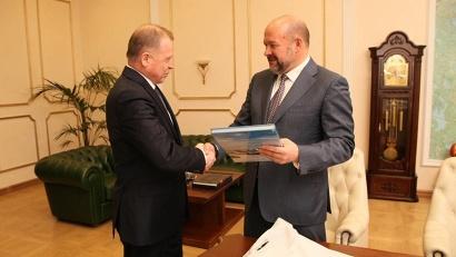 Игорь Орлов и Михаил Кучерявый обсудили вопросы подготовки будущего соглашения в интересах развития Арктики
