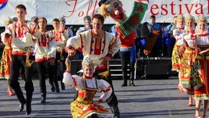 Удалой русский танец на английской земле