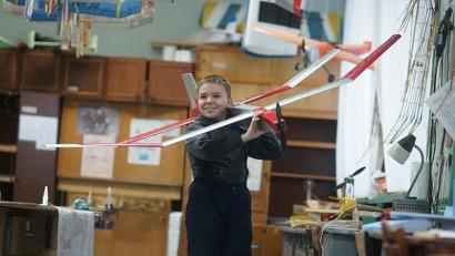 Роман Губницин и его самолёт – победители конкурса «Ш.У.СТР.И.К.»